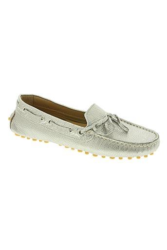 bertone chaussures femme de couleur gris
