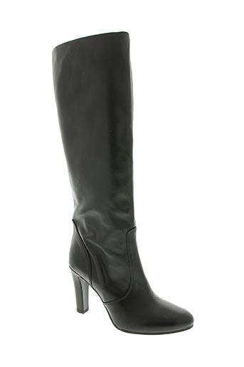 bianca di chaussures femme de couleur noir