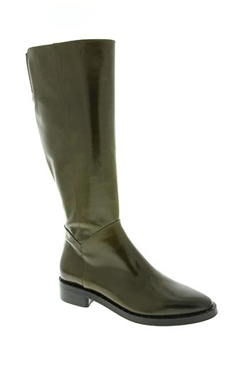 zinda chaussures femme de couleur vert