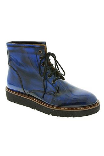mat:20 chaussures femme de couleur bleu