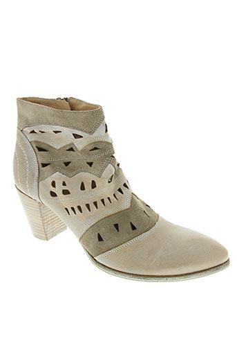 muratti chaussures femme de couleur beige