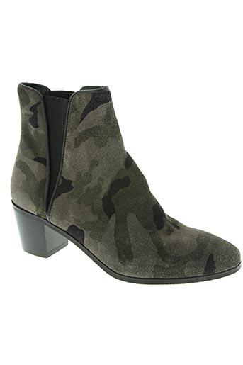 reqins chaussures femme de couleur vert