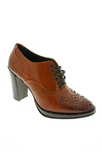 zinda chaussures femme de couleur marron