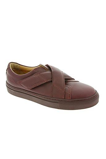 carven chaussures femme de couleur rouge