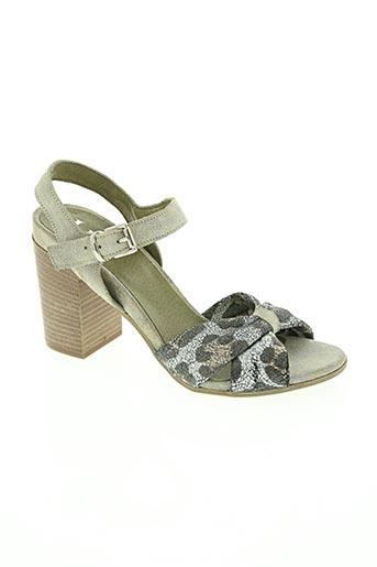 life chaussures femme de couleur vert