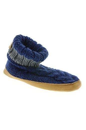 ruby brown chaussures homme de couleur bleu