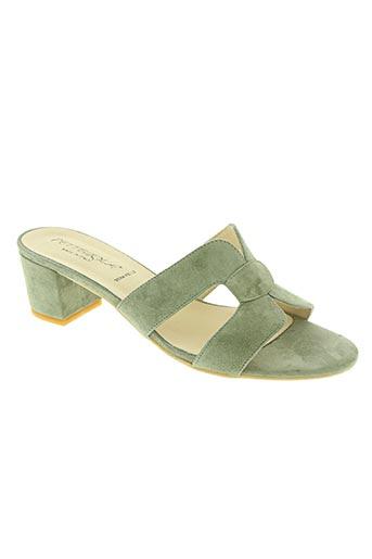 pettegola chaussures femme de couleur vert