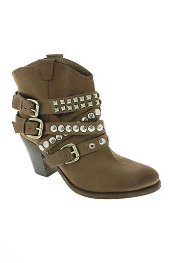 Bottines/Boots marron ASH pour femme