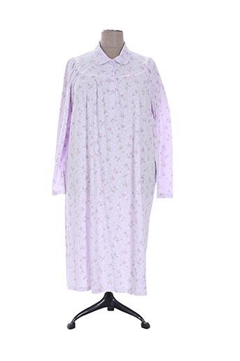 gloria baroni nuit femme de couleur violet