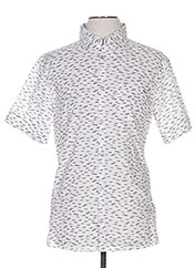 Chemise manches courtes blanc ARMANI pour homme seconde vue