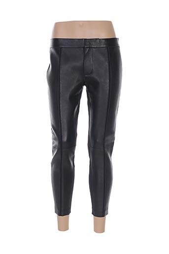Pantalon 7/8 noir DSQUARED pour femme