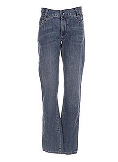 Jeans coupe droite bleu HUGO BOSS pour garçon