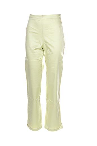 Pantalon casual vert IL ETAIT UNE FEE pour fille