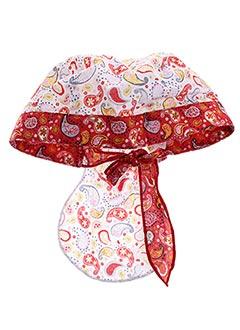 Chapeau rouge CATIMINI pour fille