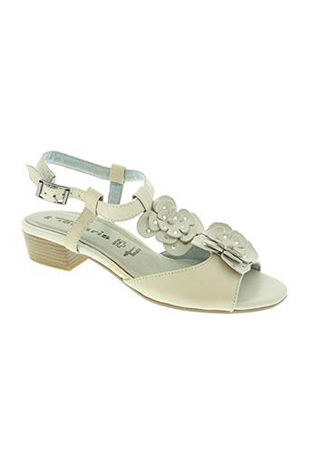 Chaussures Cher Sandalesnu Tamaris De Modz En Couleur Soldes Pieds Pas 1273043 Beige0 Beige srCQxhBdot