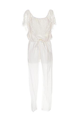 Combi-pantalon beige VALERIE KHALFON pour femme