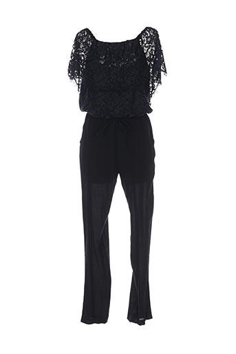 Combi-pantalon noir VALERIE KHALFON pour femme