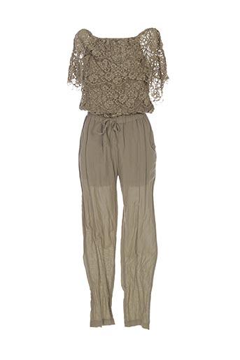 Combi-pantalon vert VALERIE KHALFON pour femme