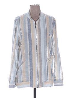 Veste casual bleu VALERIE KHALFON pour femme