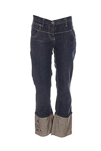 Jeans coupe droite bleu MEXX pour fille