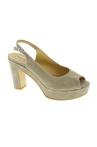 Sandales/Nu pieds beige DONNA PIU pour femme