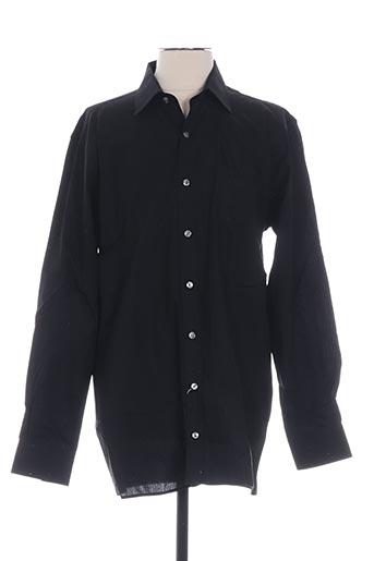 jupiter chemises homme de couleur noir