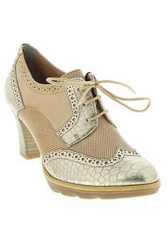 tamaris chaussures femme de couleur beige