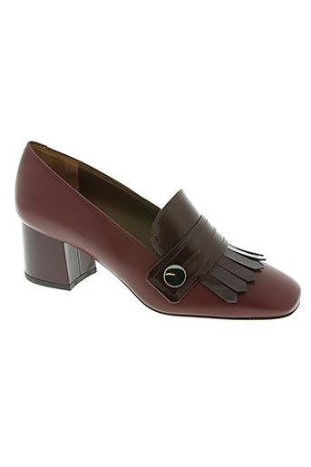 de robert chaussures femme de couleur rouge