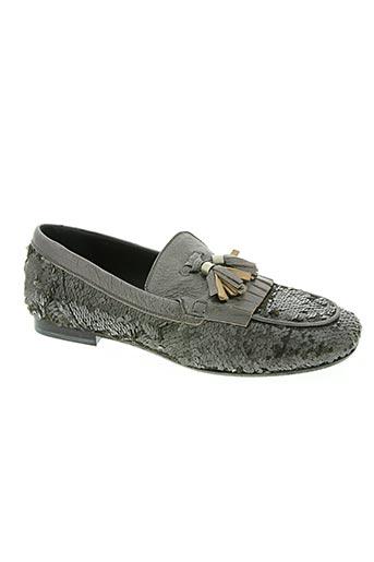 donna carolina chaussures femme de couleur gris