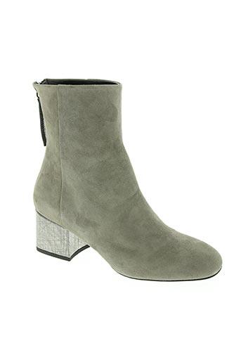 goffredo fantini chaussures femme de couleur gris