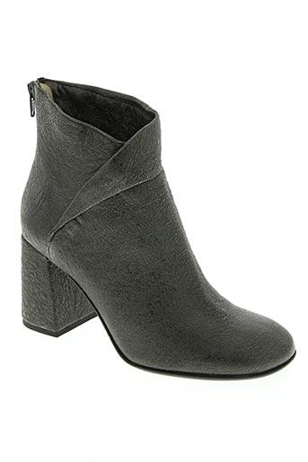 Bottines/Boots gris ETTORE LAMI pour femme