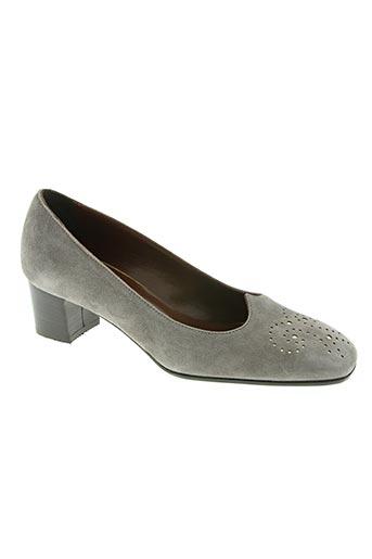 Escarpins gris ELATA pour femme