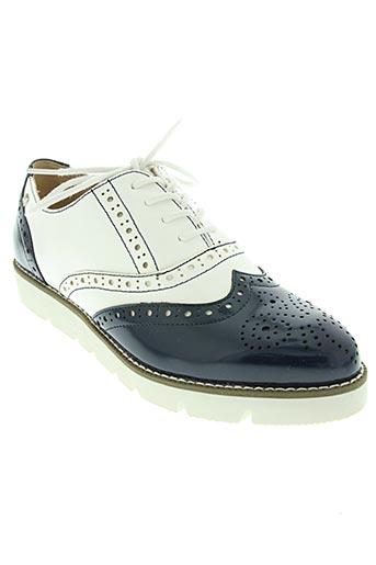 mariamare chaussures femme de couleur bleu