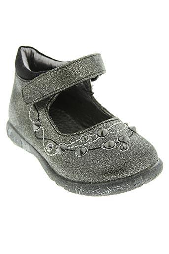 nucci kids chaussures fille de couleur gris