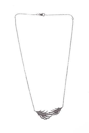 Collier gris BOUTIQUE GRANDJEAN VALÉRIE pour femme