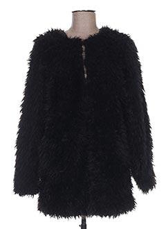 Veste casual noir ICHI pour femme