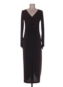 Robe longue marron ISABEL DE PEDRO pour femme