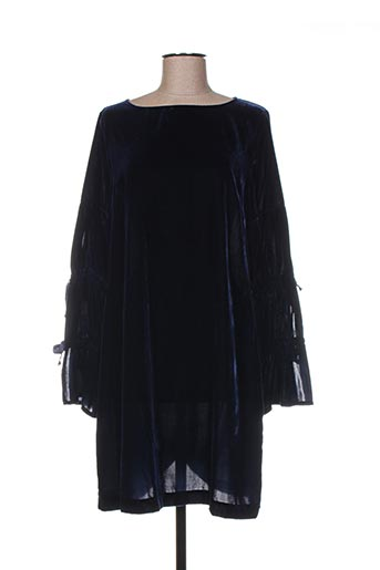 Robe mi-longue bleu ÉCLÀ pour femme