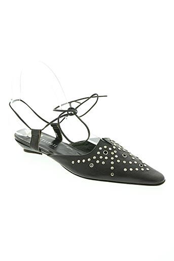 trifoli chaussures femme de couleur noir