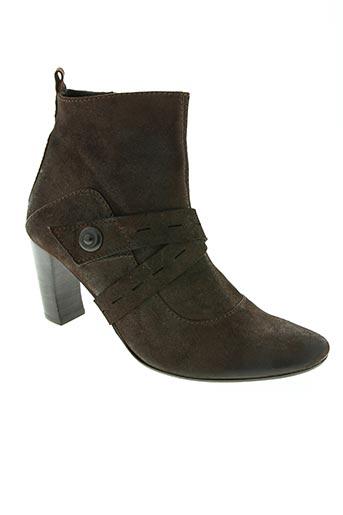 Bottines/Boots marron APL ANONYM pour femme
