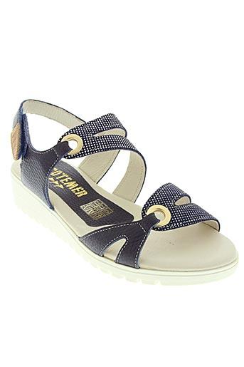 cotemer chaussures femme de couleur bleu