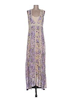 Robe longue violet TWIN-SET SIMONA BARBIERI pour femme