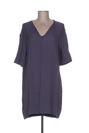 Robe courte violet MANILA GRACE pour femme