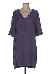 Robe courte violet MANILA GRACE pour femme seconde vue