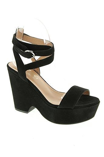 twinset chaussures femme de couleur noir