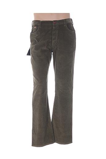Pantalon casual vert C1 DENIM pour homme