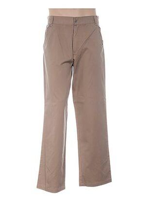 Pantalon casual beige TITUS pour homme