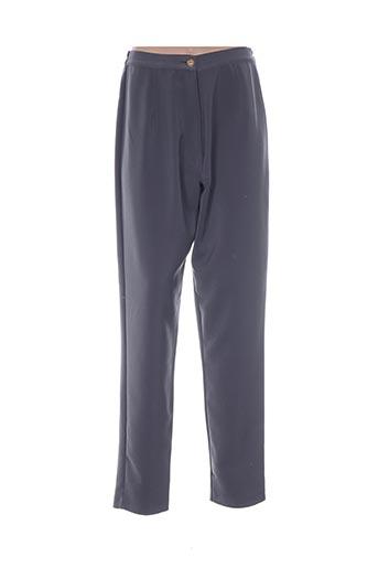 Pantalon chic gris BOULEVARD BY RONDISSIMO pour femme