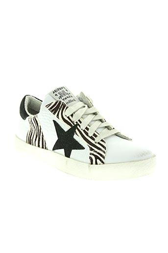 meline chaussures femme de couleur blanc