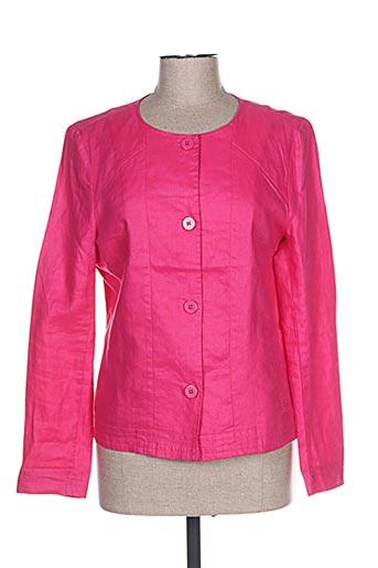 Veste casual rose THALASSA pour femme